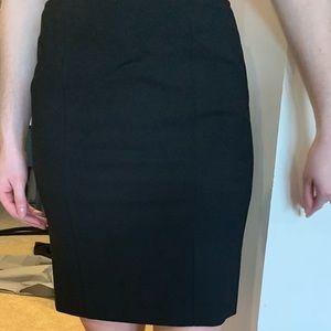 Theory Black Mini Skirt